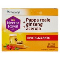 Pappa Reale + Ginseng + Acerola Nectar Royal 10 Fiale