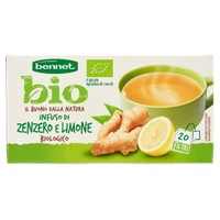 Infuso Di Zenzero E Limone Bio Bennet 20 Filtri