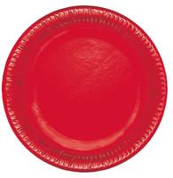 Piatti Usa & getta In Cartoncino Rosso Bibo Cm . 23 Conf . da 20