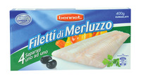 Filetti Merluzzo Surgelati Bennet