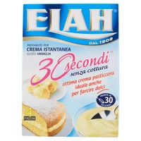 Crema 30 sec . Vaniglia Elah