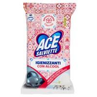 Salviette Igienizzanti Per Superfici Con Alcool Ace , conf . da Pz . 40