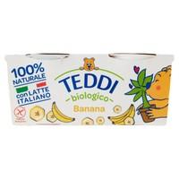 Yogurt Banana Teddi Bio Fattorie Scaldasole 2 Da Gr . 115