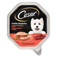 Alimento Umido Per Cani Pollo E Carote Cesar