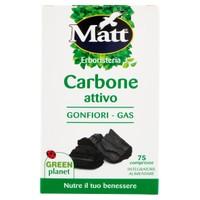 Carbone Attivo Matt 75 Compresse