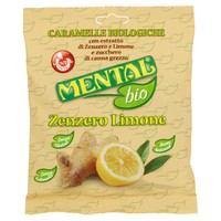 Caramelle Zenzero Limone Mental Bio