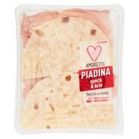 Piadina A Meta ' speck E Brie Amoretti