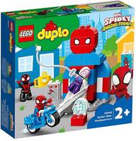 Il Quartier Generale Di Spiderman Lego Duplo 2+
