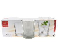 3 Bicchieri Acqua Aura Bormioli
