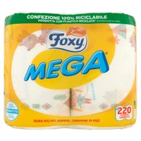 Carta Cucina Decorata Foxy Mega