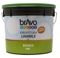 Idropittura Lavabile Per Interni 14 l Bravo Colors