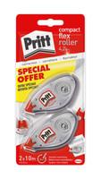 2 Correttori Pritt Roller Compact 2 pz Per 10 M