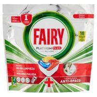 Pastiglie Lavastoviglie  Platinum Plus Limone Fairy, 18 Capsule