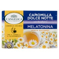 Camomilla Solubile Con Passiflora E Melatonina Dolce Notte L'angelica