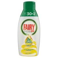 Gel Lavastoviglie Fairy Platinum Lemon 30 + 2 Lavaggi
