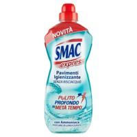 Detergente Pavimenti Con Ammoniaca Smac Express , conf . da Lt . 1