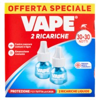 Ricarica Liquida Per Elettroemanatore Invisible Vape 30 Notti X 2 Conf .
