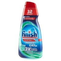 Detergente Per Lavastoviglie In Gel Igienizzante Finish Tuttoin 1
