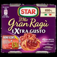 Gran Ragù Star Extra Gusto 2 Da Gr . 180