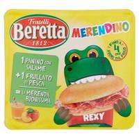 Merendino Salame + frullato Pesca Beretta