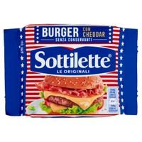 Sottilette Burger Con Cheddar Conf . Da 7