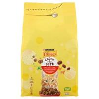 Alimento Secco Per Gatti Manzo Crock&Soft Friskies