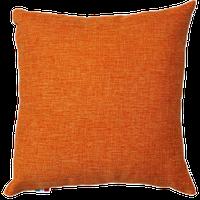 Cuscino Arredo Con Zip Cm 40 x 40 Arancio