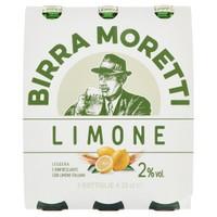 Moretti Radler Limone 3 Bottiglie Da Cl . 33