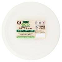 Piatti Piani In Polpa Di Cellulosa Bennet Eco Cm . 26