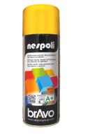 Spray Acrilico Brillante Giallo Traffico Nespoli Ml . 400