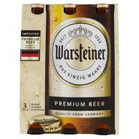 Birra Warsteiner 3 Bottiglie Da Cl . 33