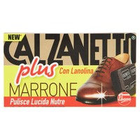 Calzanetto Plus Marrone Con Lanolina