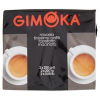 Caffe ' Macinato Gimoka Nero 2 Da Gr . 250