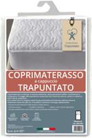 Coprimaterasso Ventotene 1 pz Cm 85 x 195 Imbottito E Trapuntato