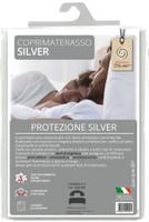 Coprimaterasso 1 pz 1 / 2 Cm 120 x 195 Con Trattamento Silver Antibatterico