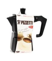 Caffettiera Nera Pezzetti 1 Tazza