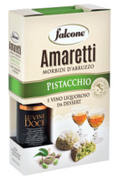 Valigetta Amaretti Al Pistacchio + Vino Dolce