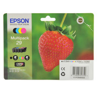 Multipack 4 Cartucce Inchiostro Serie Fragola Epson