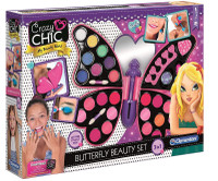 Set Butterfly Beauty 3 in 1 Crazy Chic Clementoni