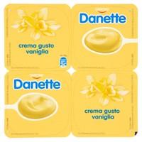 Crema Alla Vaniglia Danette 4 Da Gr . 125