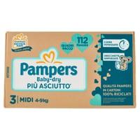 Pampers Quadripack Dry Midi