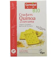 Crackers Quinoa E Curcuma Senza Glutine Bio Germinal