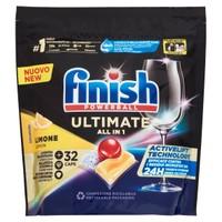 Detergente Lavastoviglie Finish Powerball Quantum Ultimate Limone