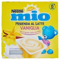 Merenda Al Latte Vaniglia Da 6 Mesi Nestlé Mio