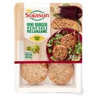 Mini Burger Melanzane Sojasun