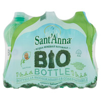 Acqua Naturale Bio Bottle S . anna 6 Da L . 0 , 75