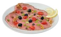 Carne Inglese Con Pomodorini Olive Nere E Noci