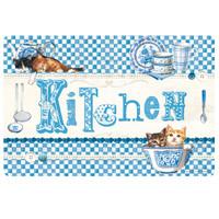 Tovaglietta Americana Blue Kitchen