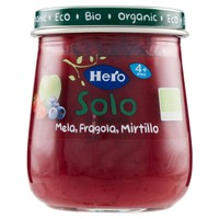 Omogeneizzato Mela Fragola Mirtillo Hero