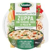 Zuppa Cereali E Pollo Pensati Per Voi